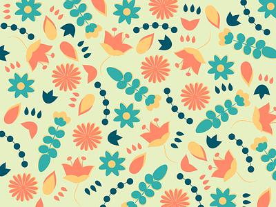 Pattern Play illustrator illustrations floral botanical pattern pattern design