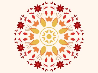 Mandala Patterns prints and patterns textiles floral patterns botanical patterns botanical floral pattern design illustrations pattern mandala