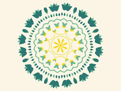 Mandala Designs still going strong! graphic design botanical designs botanical floral designs floral pattern designs pattern vector icons design illustrator illustrations