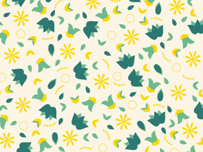 Pattern Work minimal flat flower illustration flowers pattern design pattern illustration design illustration