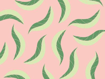Beleaf in Something Good pattern illustrations illustrations leaf flower minimal flat pattern designers pattern design