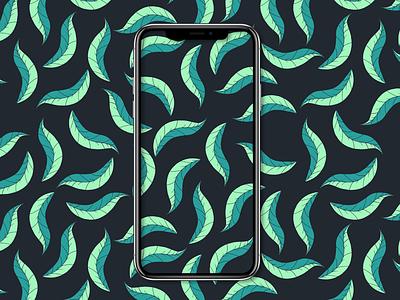Leafy Pattern V2 flower pattern design pattern minimal flat flat design branding vector design illustration art illustration