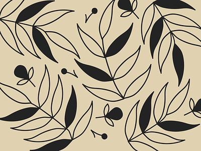 Pattern a day art flowers branding flat minimal illustration pattern design pattern