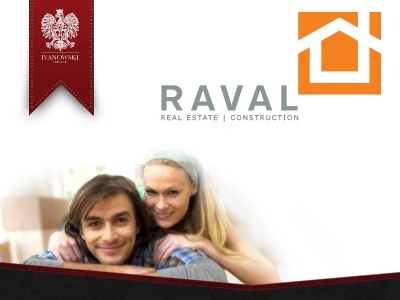 Raval Real Estate Construction concept design web