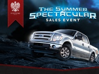 Ford Summer Spectacular Sales Event