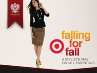 Falling for Fall - Target - Rich Media Advertisement