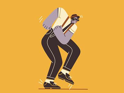Ska procreate ska illustration character design