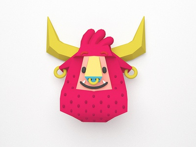 BoomBoi - 3d study 3d art 3d character cinema 4d character design character