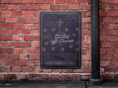 Christmas Illustration Poster