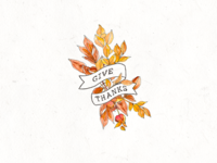 Give Thanks Badge