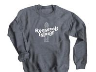Roosevelt Island Lighthouse Sweatshirt