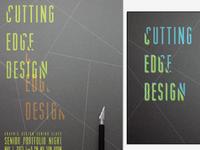 Cutting Edge Design 2