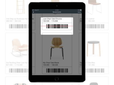 Bonagora POS for iOS - Barcode Scanning