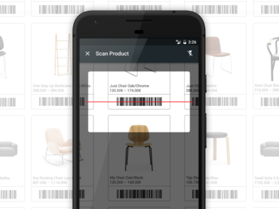 Bonagora POS for Android - Barcode Scanning