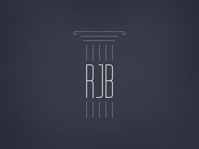 Attorney Logo law law firm attorney logo icon logomark initials branding logotype typography