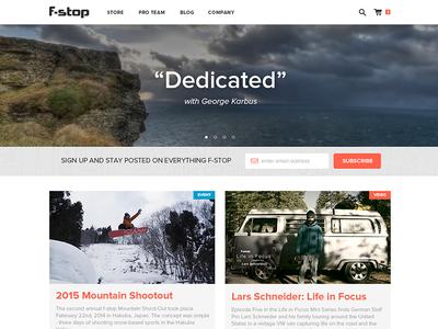 Blog Landing Page