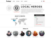 Team Landing Page / Filter