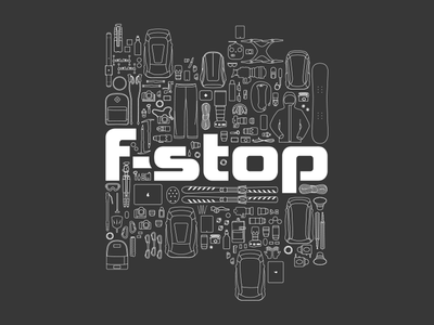 Vector Pattern for t-shirt f-stop backpack extreme sport adventure camera photography shirt illustrator pattern vector