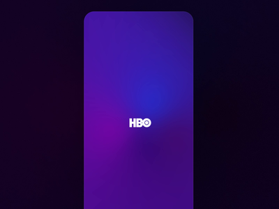 HBO Max - Launching Experience future ai app ios 15 hd smooth youtube netflix graphics motion cinema movies streaming hbo ios purple ux animated animation gradient