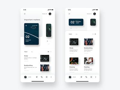 Upcoming ux app design ui
