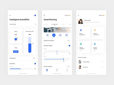 Smart Home System App Concept - Part 3 queble icon device interface smart home ux design app ui