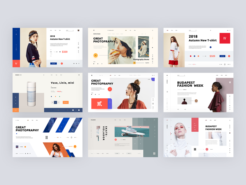 Web 2018 design ui web