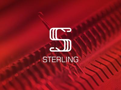 Sterling Logo needles needle knitting circular knitting machine s letter s logo s logo design logodesign logotype logo