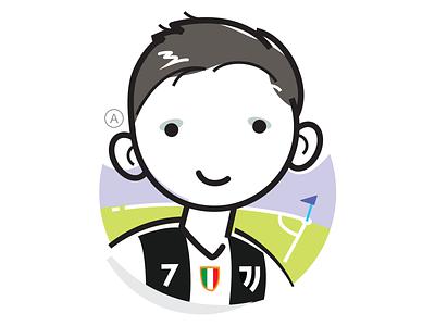 Avatar illustraion face head profiles icon avatar