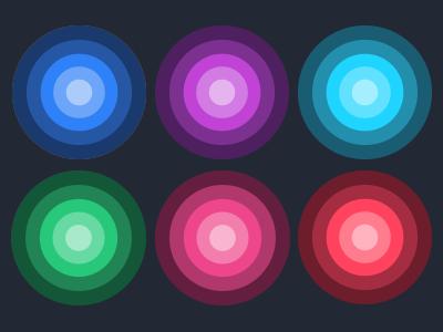 Tints & Shades colors palette shades tints mesosphere
