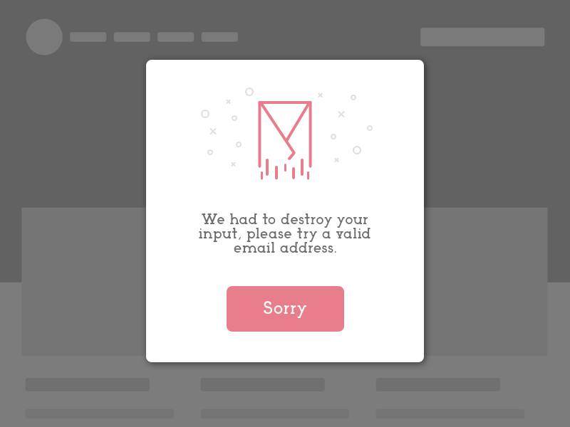 DailyUI #011 Flash Message vector ux ui success illustration flat message flash error design dailyui