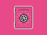 Dribbble passport 3x
