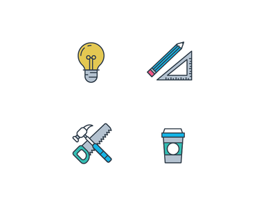 Icons 1 icons design illustration