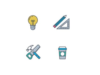 Icons 1 icons design illustration