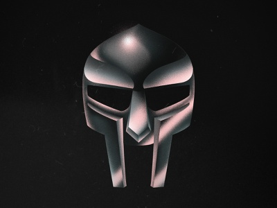 MF Doom rap hiphop mask doom texture photoshop illustration