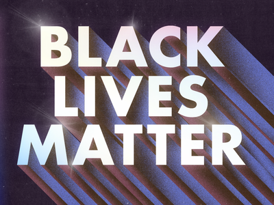 Black Lives Matter equality justice typography texture photoshop illustration