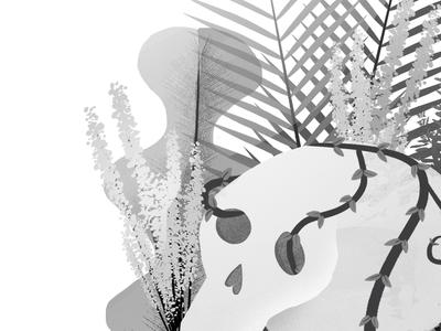 Skull Garden Detail