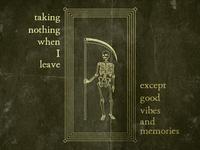 Taking Nothing