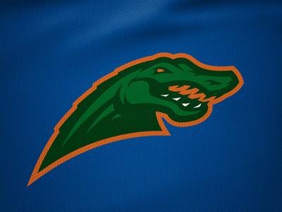 Florida Gators Rebrand Concept Logo gator gators florida rebranding sports logo sports branding