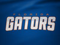 Florida Gators Rebrand Concept Wordmark