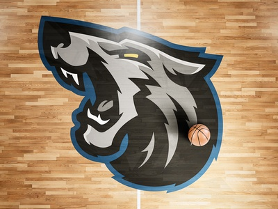 Minnesota Timberwolves Rebrand Concept Logo nba wolf wolves minnesota rebranding sports logo sports branding
