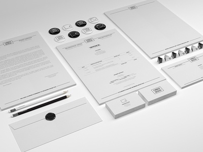 Identity Creosoul branding stationery corporate responsive badge wax seal