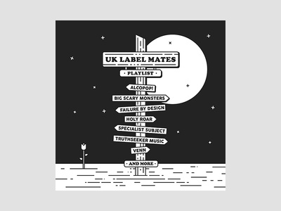 UK Label Mates Playlist Cover