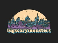 Big Scary Monsters Oxford Skyline