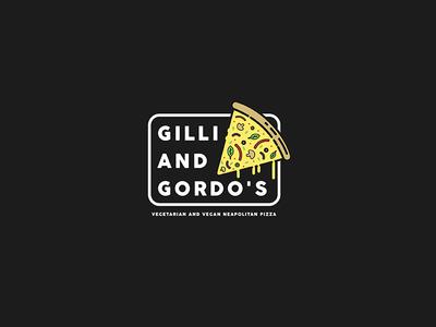 Gilli And Gordo's Pizza Logo
