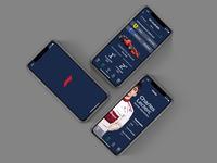 Formula 1  - App Restyling Concept