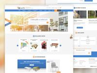 Leader-Equipement website