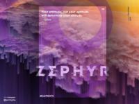 Zephyr - Elements poster series (IV/IV)