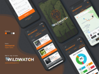 WildWatch App UI Design