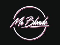 Logo design Mr Blonde