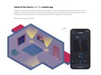 Hotel app illustration